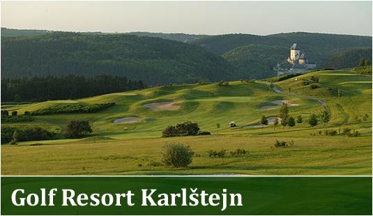 Hřiště - Golf Resort Karlštejn